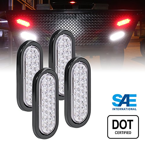 6 Inch Oval White Led Lights