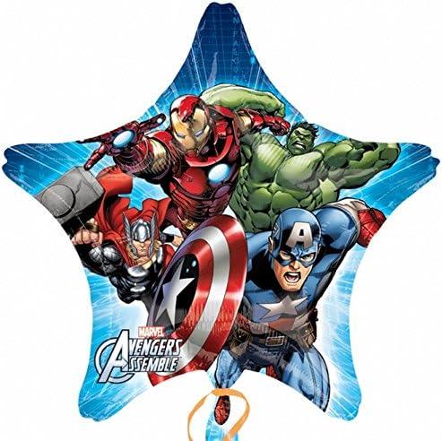 32 Anagram International 2804201 Avengers Assemble Star Jumbo ...