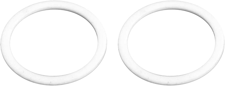 2-pack Aeromotive 15047 Replacement Nylon Washers for AN-12 Bulkhead Fitting