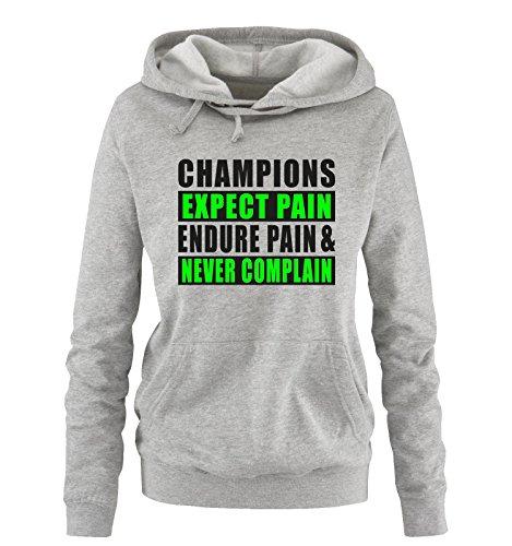 Different Different S Comedy Comedy Sweater Expect Verde Pain Nero neon Grigio XL Colors Donna Taglia Hoodie Cappuccio Champions Shirts zzqgWrPU