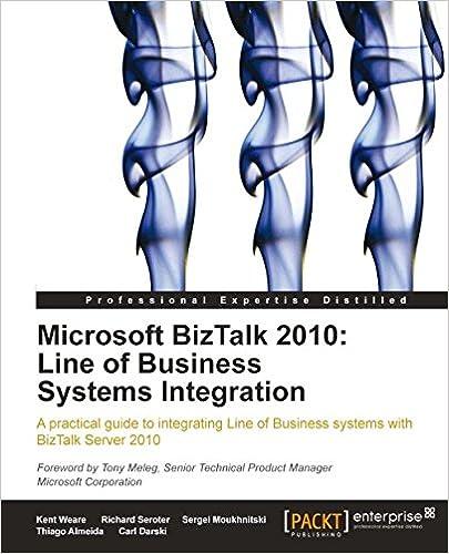 Téléchargement d'ebooks en ligneMicrosoft BizTalk 2010: Line of Business Systems Integration by Richard Seroter (French Edition) PDF