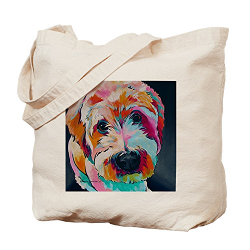 CafePress - Wheaten Terrier Kirby Jane - Natural Canvas Tote Bag, Cloth Shopping Bag