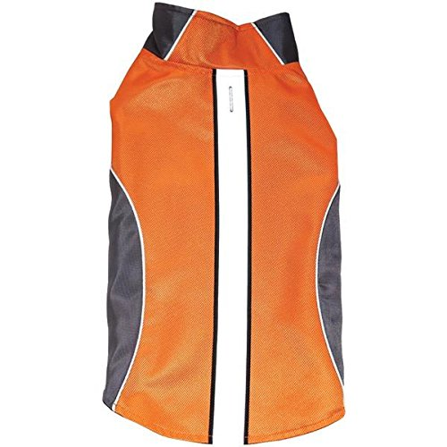 Royal Animals Sw15007or-M Water-Resistant Dog Raincoat With Reflective Stripes, Orange (medium) 11.00in. x 6.00in. x 1.