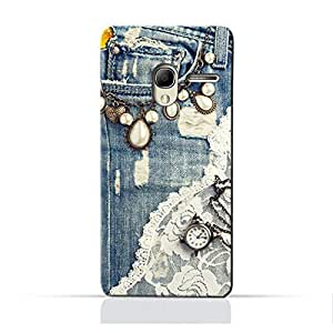 AMC Design Pop3 5 inch TPU Silicone Protective case with Modern Jeans Pattern