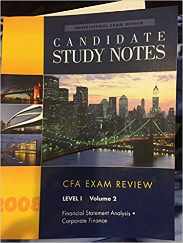 corporate finance 2 final exam