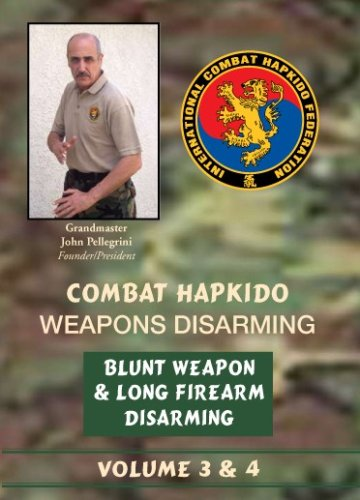 Combat Hapkido Weapons Disarming DVD Volume 3 & 4