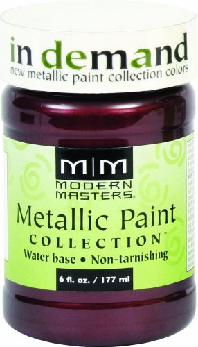 (Modern Masters ME704-06 Metallic Black Cherry, 6-Ounce)