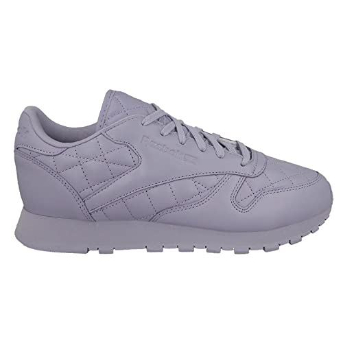 12160fa467d Reebok Classic Leather Quilted Trainers Purple  Amazon.co.uk  Shoes ...