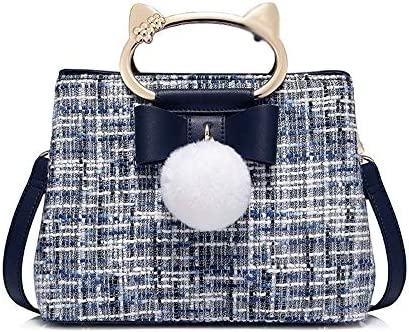 HEMFV 女の子のファッションクラッチ用女性レザークロスボディショルダー財布メッセンジャーバッグ