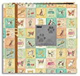 Pioneer 12 Inch by 12 Inch Postbound Frame Front Memory Book, Dog Design