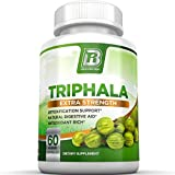 BRI Nutrition Triphala - 1000mg Veggie Himalaya Triphala Pure Extract Plus - 30 Day Supply - 2-Pack 60ct Veggie Capsules