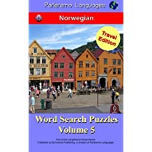 Parleremo Languages Word Search Puzzles Travel Edition Norwegian - Volume 5