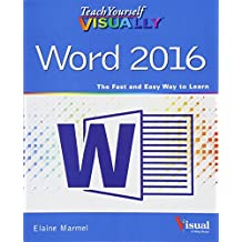 Teach Yourself VISUALLY Word 2016