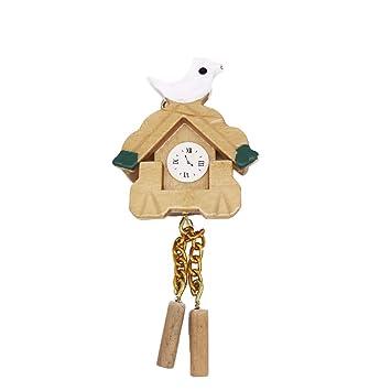 Healifty DIY fée Jardin Miniatures Horloge Maison de poupée ...
