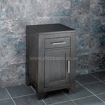 Clickbasin Alta massiv Eiche Wenge 45 cm Square One Tür Unterschrank ...