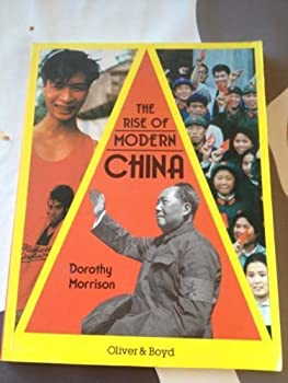 Rise of Modern China 0050041835 Book Cover