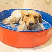 ZLY Bañera Bañera Lavar Bañera Mascota PVC Plegable Mascota Perro ...