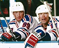 Hockey New York Rangers Wayne Gretzky & Mark Messier Photo Picture
