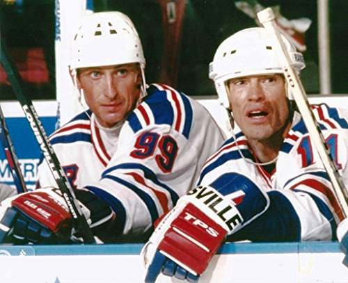 Hockey New York Rangers Wayne Gretzky & Mark Messier - 8