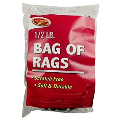 Clean-Rite 2-252 Bag of Rags- Tshirt Material: Automotive