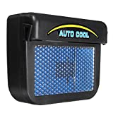Winnerbe Solar Power Car Window Auto Air Vent Cool Fan Cooler Ventilation System Radiator
