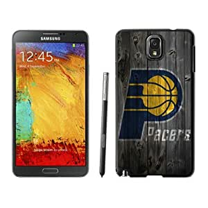 New Custom Design Cover Case For Samsung Galaxy Note 3 N900A N900V N900P N900T Indiana Pacers 1 Black Phone Case