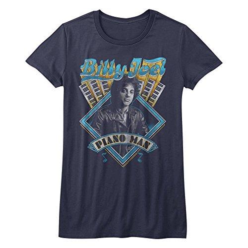 (American Classics Billy Joel T Shirt Billy Joel Juniors Short Sleeve M)