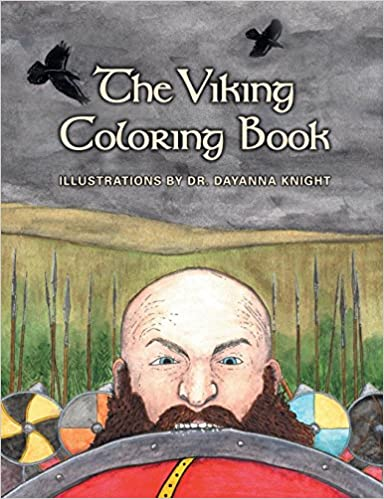 Amazon Com The Viking Coloring Book 9780866985826 Dayanna Knight