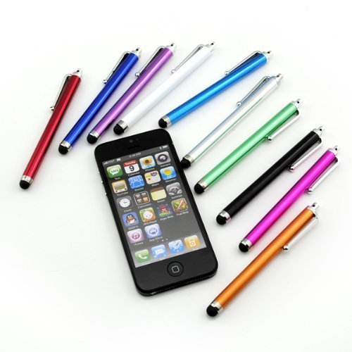 10 Premium Capacitive Stylus iPad iPhone Nexus Tablet Kindle Fire Digital Pen (10 Packs)