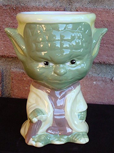 Yoda Ceramic Coffee Cup Goblet Mug Official 2014 Galerie Collection Star Wars [Lucas films Official Licensed Merchandise]