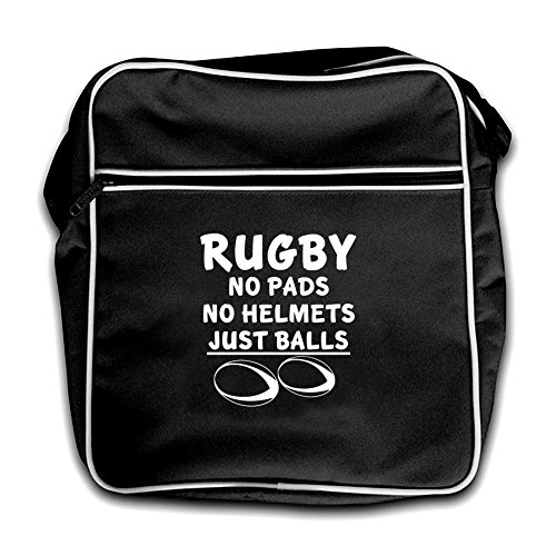 Dressdown Flight Black Helmet Rugby Just Pads Retro Red Balls No Bag wvfwSH1qrn
