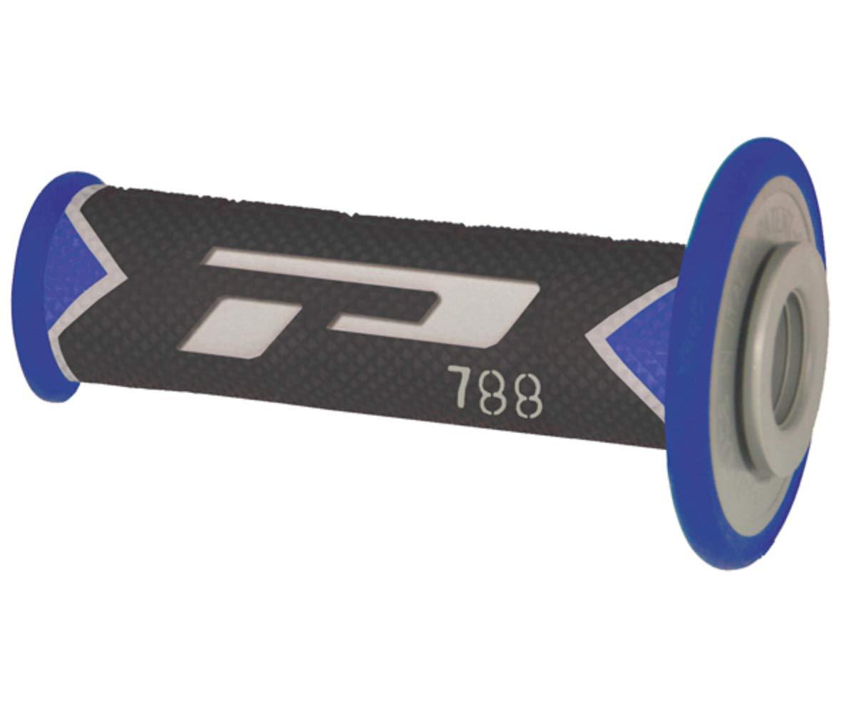 colore blu// grigio// nero Manopola da cross 788 Triple Density Pro Grip PA078800BLGN