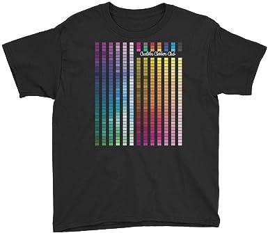 Custom Clobber Club Rainbow Multi Coloured Unisex Kids T-Shirt W