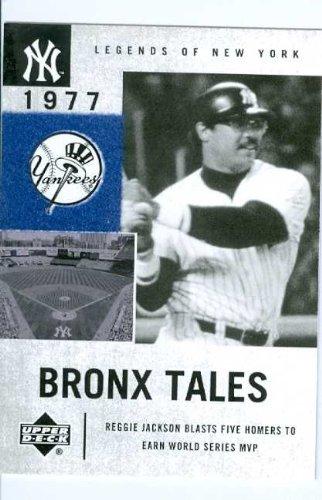 25ca02c0a Reggie Jackson 2001 Upper Deck Legends of New York baseball card  134 New  York Yankees
