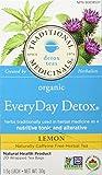 Traditional Medicinals Organic Everyday Detox Lemon, 20 tea bags