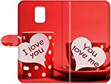 Black Friday Promotions Samsung Galaxy S5 Leather Case,PC Shell Transparent Cover Leather Case for Samsung Galaxy S5 Love you love me tazas cafe