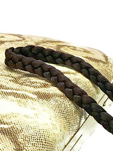 MeeTHan Fashion Plaited Hair Braid Yoga Headbands : H23 (EL Brown 1.5 CM)
