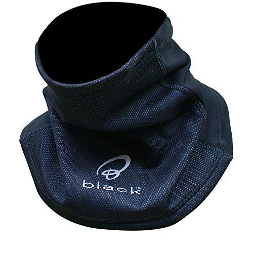 5006 - Black Winddichtes Motorrad Halskrause Halsrohr auch für Radsport Skisport Snowboard und andere nutzungen geeignet