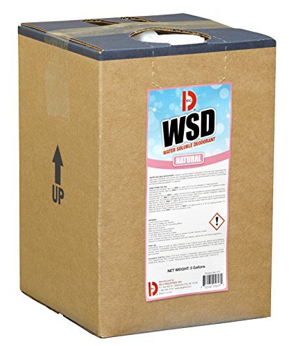 Big D 5617 Water Soluble Deodorant, Natural Fragrance, 5 Gallon Pail - Add to any cleaning solution - Ideal for use in hotels, food service, health care, schools and institutions