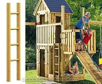 Holzleiter Für Spielturmerweiterung 150cm Kinderspielgeräte Für