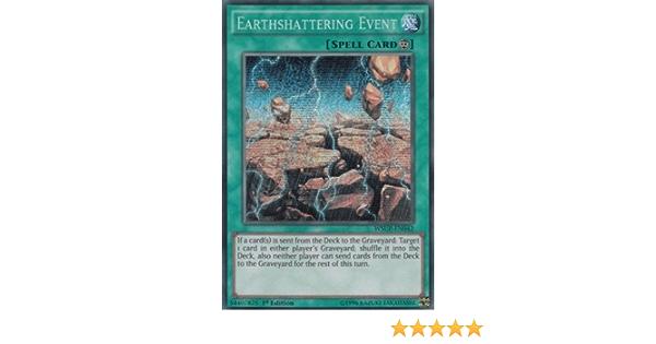 1X NM Earthshattering Event Prismatic Secret Rare 1st Edition WSUP-EN042
