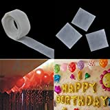 Soviton 2Pcs Balloon Attachment 100 Glue Special Double-Side Adhesive Tape Balloon Sticks Craft Roller Stickers