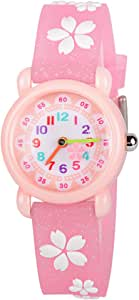 Venhoo Kids Watches Cute 3D Cartoon Waterproof Children Toddler Wrist Watch Time Teacher Birthday Gifts for 3-10 Year Boys Girls Little Child