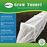 UniEco Fabric Grow Tunnel Square Iron Hoops