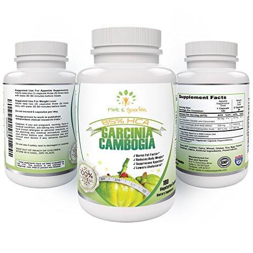 Garcinia Cambogia 85 HCA ULTRA STRENGTH -100 NATURAL Extract-WEIGHT LOSS Supplement