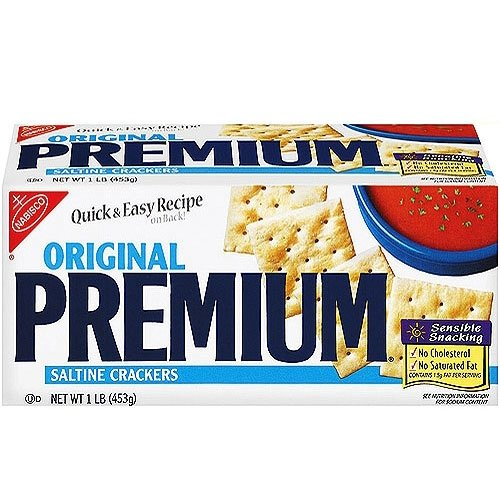 Nabisco Premium Original Saltine Crackers, 16 Oz.