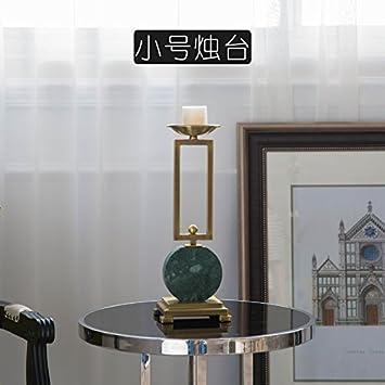 Hervorragend Fkduih American Style Einfache Tabelle Marmor Möbel Und Ornamente Der  Französischen Romantische Kerze Leuchter Dekoration,