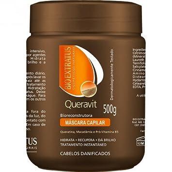 Linha Queravit (Tratamento Instantaneo) Bio Extratus - Mascara Capilar Bio Reconstrutora 500 Gr -