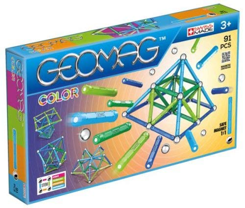 ToyPlaya GEOMAG Color (91 Pieces)