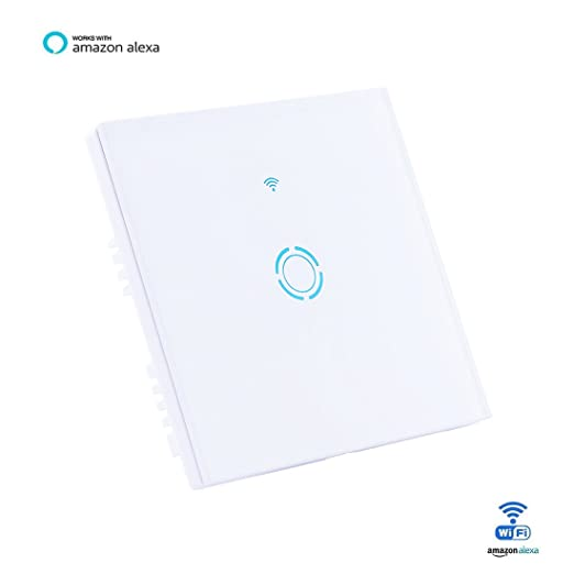 Aogetyo smart wifi wall light switch 1 gang wireless glass touch aogetyo smart wifi wall light switch 1 gang wireless glass touch panel timer works with alex cheapraybanclubmaster Choice Image